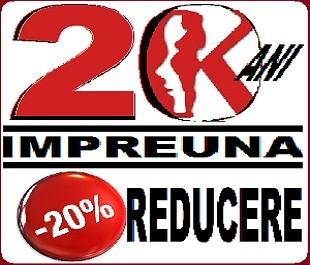 REDUCERE ANIVERSARA DE 20 ANI